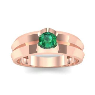 Ij055 Render 1 01 Camera2 Stone 1 Emerald 0 Floor 0 Metal 2 Rose Gold 0 Emitter Aqua Light 0