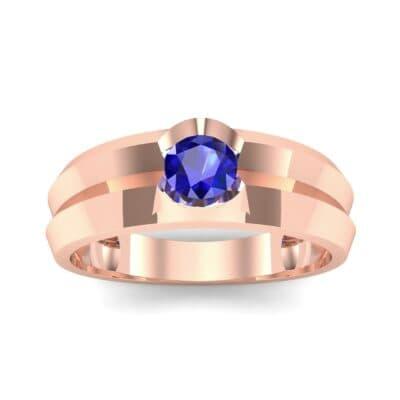 Ij055 Render 1 01 Camera2 Stone 3 Blue Sapphire 0 Floor 0 Metal 2 Rose Gold 0 Emitter Aqua Light 0