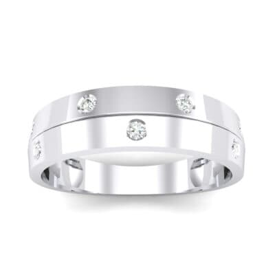 Starlight Split Band Crystal Ring (0.21 CTW) Top Dynamic View
