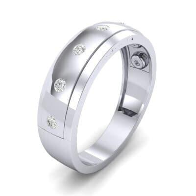 Cinque Burnish Diamond Ring (0.21 CTW)