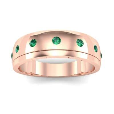 Ij096 Render 1 01 Camera2 Stone 1 Emerald 0 Floor 0 Metal 2 Rose Gold 0 Emitter Aqua Light 0