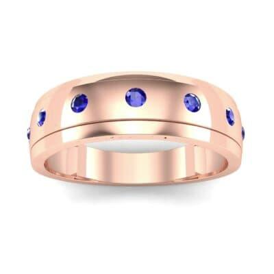 Ij096 Render 1 01 Camera2 Stone 3 Blue Sapphire 0 Floor 0 Metal 2 Rose Gold 0 Emitter Aqua Light 0
