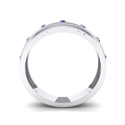 Cinque Burnish Blue Sapphire Ring (0.21 CTW) Side View