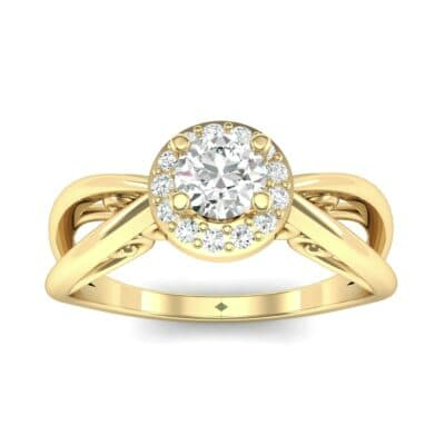 Ij097 Render 1 01 Camera2 Stone 4 Diamond 0 Floor 0 Metal 3 Yellow Gold 0 Emitter Aqua Light 0