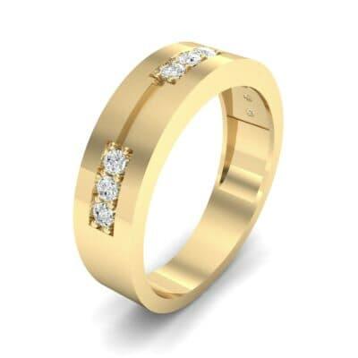 Pave Node Diamond Ring (0.27 CTW)