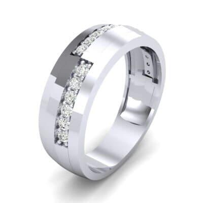 Pave Blocks Diamond Ring (0.36 CTW)