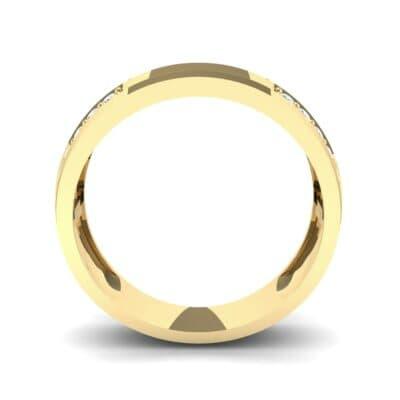Pave Blocks Diamond Ring (0.36 CTW) Side View