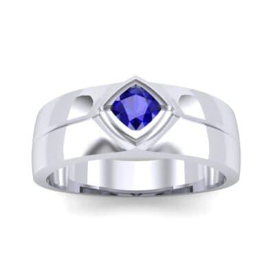 Ij107 Render 1 01 Camera2 Stone 3 Blue Sapphire 0 Floor 0 Metal 1 Platinum 0 Emitter Aqua Light 0