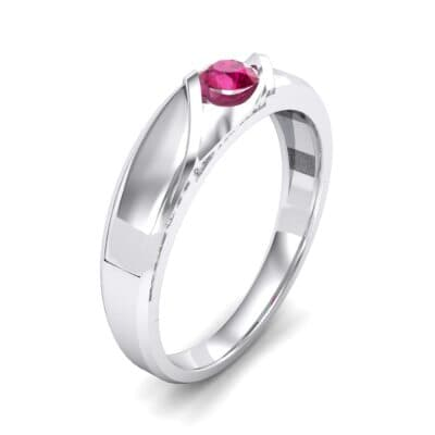 Voyage Solitaire Ruby Ring (0.17 CTW)