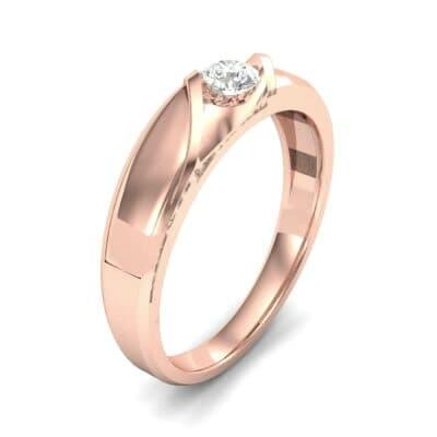 Voyage Solitaire Diamond Ring (0.17 CTW)