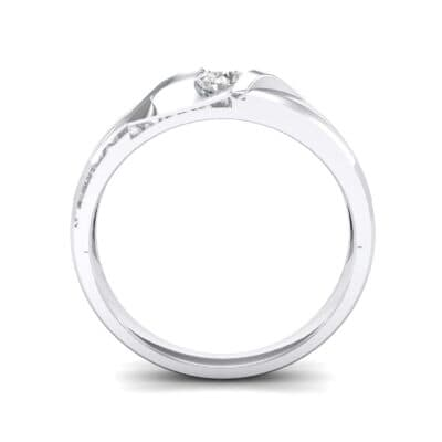 Voyage Solitaire Crystal Ring (0.17 CTW) Side View