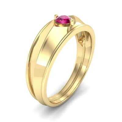 North Star Ruby Ring (0.17 CTW)