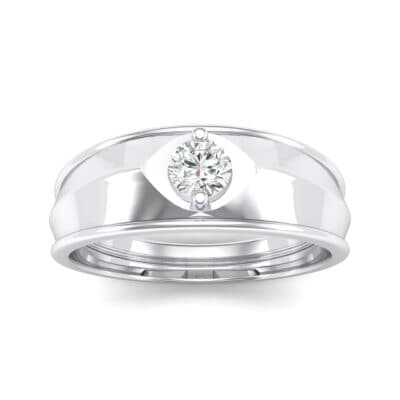 North Star Crystal Ring (0.17 CTW) Top Dynamic View