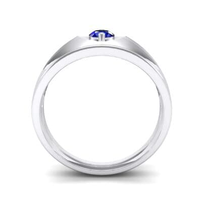 North Star Blue Sapphire Ring (0.17 CTW) Side View