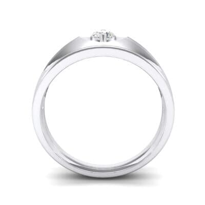North Star Crystal Ring (0.17 CTW) Side View