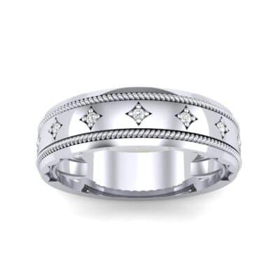 Starlight Rope Diamond Ring (0.05 CTW) Top Dynamic View