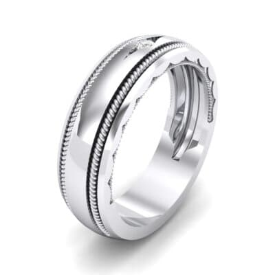 North Star Rope Crystal Ring (0.03 CTW) Perspective View