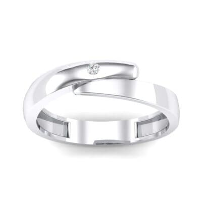 Pave Caress Crystal Ring (0.02 CTW) Top Dynamic View