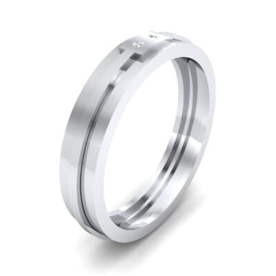 Two-Stone Token Crystal Ring (0.03 CTW) Perspective View