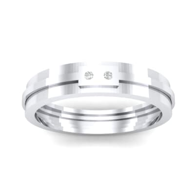Two-Stone Token Crystal Ring (0.03 CTW) Top Dynamic View