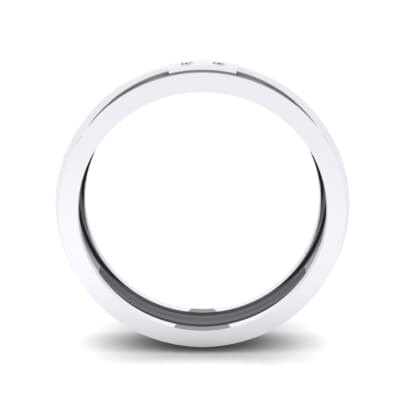 Two-Stone Token Crystal Ring (0.03 CTW) Side View