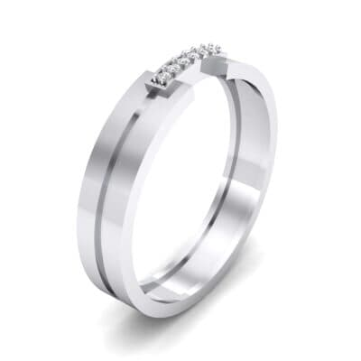 Bridge Finesse Crystal Ring (0.04 CTW) Perspective View
