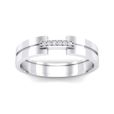 Bridge Finesse Crystal Ring (0.04 CTW) Top Dynamic View