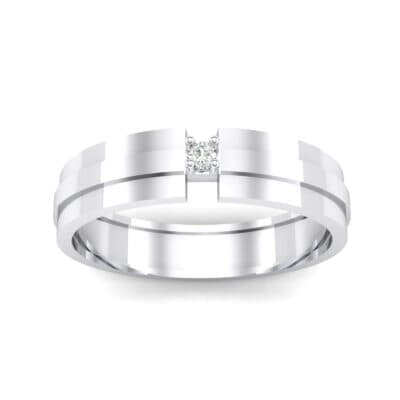 Gap Solitaire Crystal Ring (0.03 CTW) Top Dynamic View