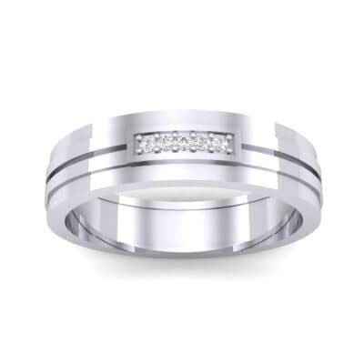 Five-Stone Pipeline Diamond Ring (0.04 CTW) Top Dynamic View