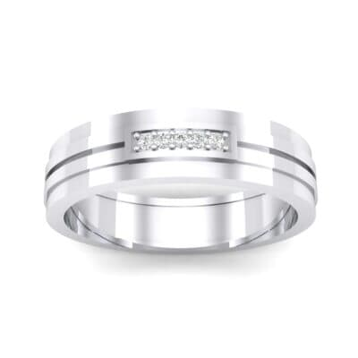 Five-Stone Pipeline Crystal Ring (0.04 CTW) Top Dynamic View