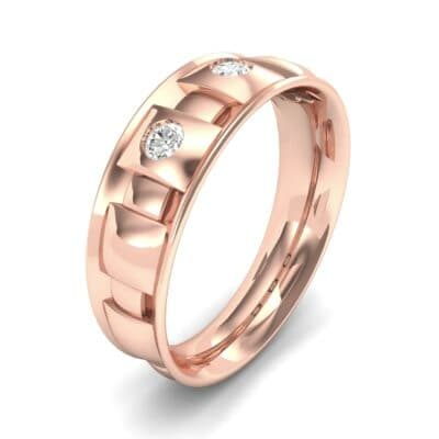 Tile Diamond Ring (0.33 CTW) Perspective View