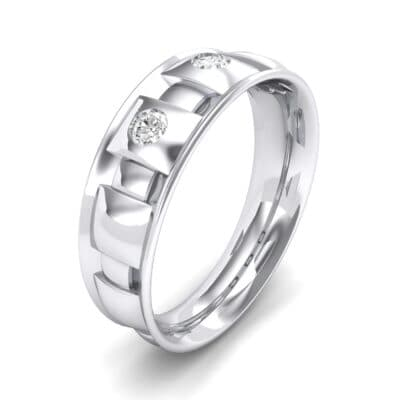 Tile Crystal Ring (0.33 CTW) Perspective View