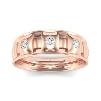 Tile Diamond Ring (0.33 CTW) Top Dynamic View