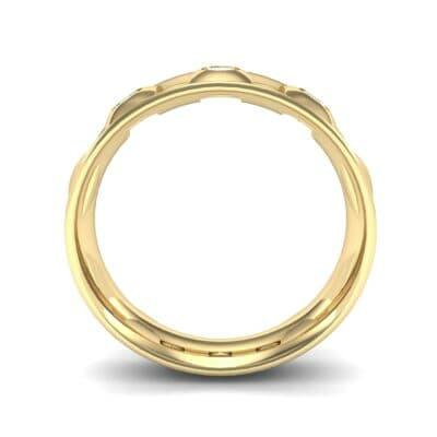 Tile Diamond Ring (0.33 CTW) Side View