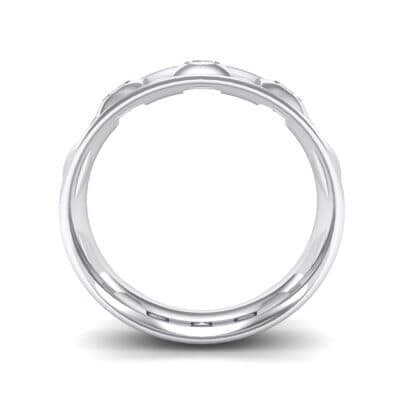 Tile Crystal Ring (0.33 CTW) Side View