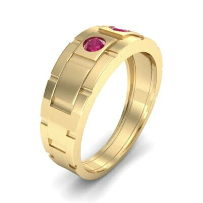 Link Ruby Ring (0.22 CTW) Perspective View