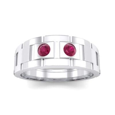 Link Ruby Ring (0.22 CTW) Top Dynamic View
