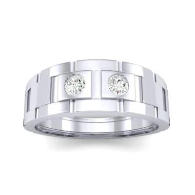 Link Diamond Ring (0.22 CTW) Top Dynamic View
