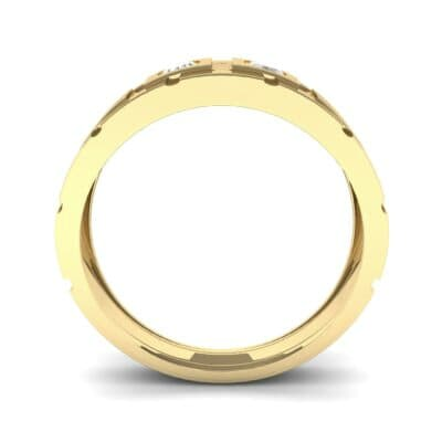 Link Diamond Ring (0.22 CTW) Side View