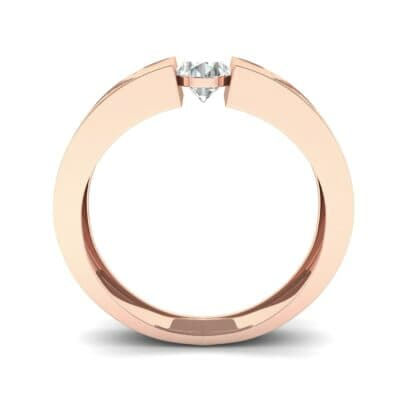 Force Solitaire Diamond Engagement Ring (0.36 CTW) Side View