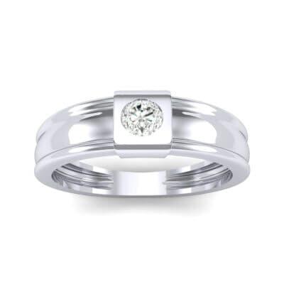 Cube Diamond Ring (0.17 CTW) Top Dynamic View