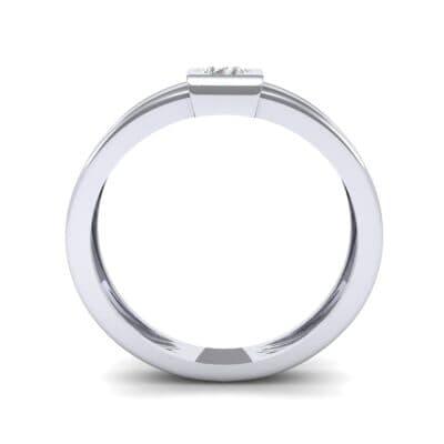Cube Diamond Ring (0.17 CTW) Side View