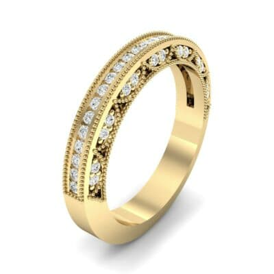 Three-Sided Palazzo Diamond Ring (0.34 CTW) Perspective View