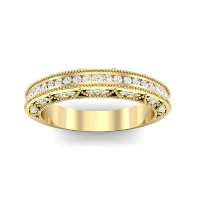 Three-Sided Palazzo Diamond Ring (0.34 CTW) Top Dynamic View