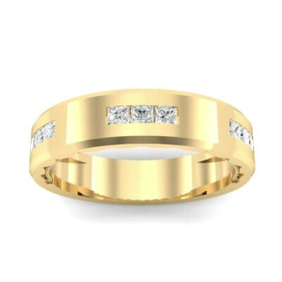 Demilune Threefold Diamond Ring (0.31 CTW) Top Dynamic View