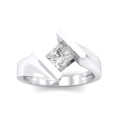 Bold Tension Diamond Ring (0.45 CTW) Top Dynamic View