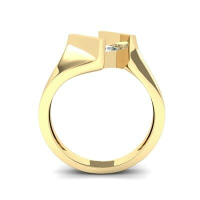 Bold Tension Diamond Ring (0.45 CTW) Side View