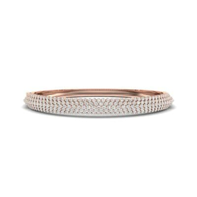 Pave Shield Diamond Cuff (2.64 CTW) Perspective View