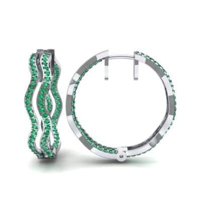Ij507 Render 1 01 Camera2 Stone 1 Emerald 0 Floor 0 Metal 4 White Gold 0 Emitter Aqua Light 0