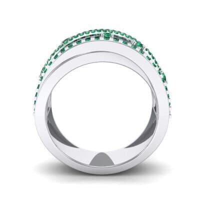 Ij508 Render 1 01 Camera3 Stone 1 Emerald 0 Floor 0 Metal 4 White Gold 0 Emitter Aqua Light 0